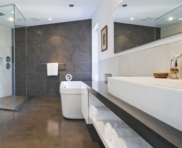 epoxy gulv på badeværelset