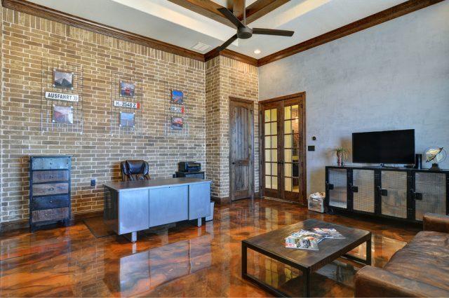 unikt epoxy gulv til stuen